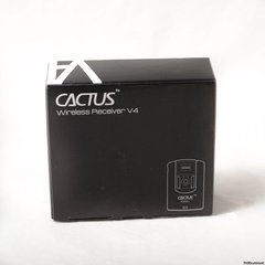 Cactus Wireless Flash Receiver V4